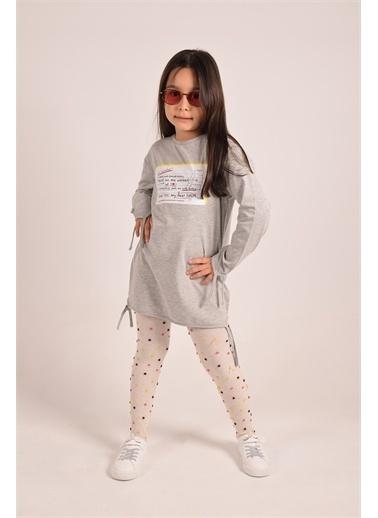 iandb Grimelanj Kız Çocuk  Elbise Natalıe Gri